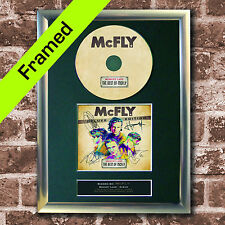 McFLY Memory Lane Album FRAMED Signed CD COVER MOUNTED A4 Autograph Print (18)