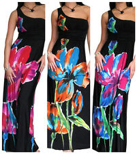 New Dress Evening Party Long Black Ladies Cocktail Summer Size 10 12 14 16 18