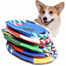 Play Children Pet Toy Dog Training Flying Saucer Frisbee Dish Plate Puppy Gift