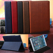 Luxury Retro Business Type Stand Leather Case Cover for Apple iPad Air 5 Gen