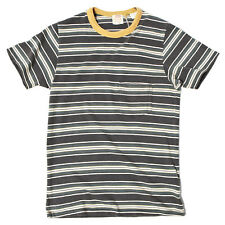 LEVI'S VINTAGE CLOTHING 1960s Striped Tee Pirate Black RRP £75