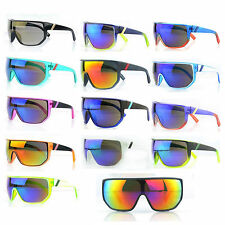 New Men's Oversized Outdoor Cycling Bicycle  Sport Wrap Lens SunGlasses Goggle