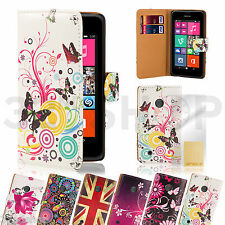 NEW PU LEATHER WALLET CASE COVER FOR NOKIA LUMIA 625 /820 SCREEN PROTECTOR