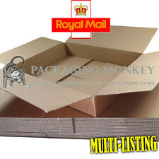 Maximum Size DEEP ROYAL MAIL SMALL PARCEL 349x249x159mm Cardboard Postal Boxes