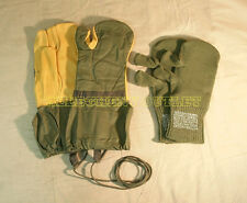 Military Trigger Finger Mittens w/ Liner & Lanyard Shooting Gloves MED & LRG NEW