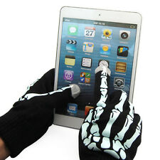 Unisex Winter Warm Skeleton Touch Screen Gloves Hand Warmer Fr Cell Phone Tablet