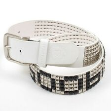 Keep-A-Breast Foundation I Love Boobies! White Stud Belt Authorized Reseller