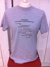 WEST HIGHLAND WAY Novelty Place Names Souvenir T Shirt Tee Great Gift Idea NEW