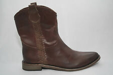 Women's Cassie Cherry from Spirit by Lucchese Leather Cherry Brown Western Boot