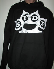 FIVE FINGER DEATH PUNCH HOODIE PULLOVER M-2X NEW BLACK