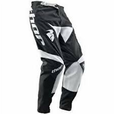 Thor Phase S10Y Pant Riding Gear Youth Black White