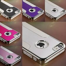 Luxury Brushed Matte Aluminum Chrome Hard Case Cover For Apple iPhone 5C