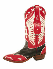 Ralph Lauren RRL Red Leather Zeferino Western Cowboys Boots New $990