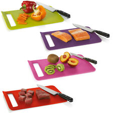New Home Zeal Kitchen Plastic Non Slip Straight To Pan Large Food Chopping Board