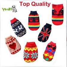 Top Quality Hot pet dog cat clothing sweater appreal Dog Clothes Jacket Jumper
