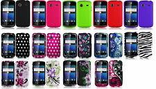 Protector Faceplate Hard Cover Case for Straight Talk  ZTE Whirl Z660G Phone