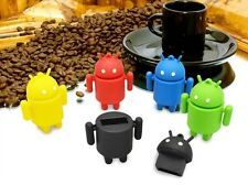 Genuine 4 - 32G Cute Andriod robot model usb 2.0 memory stick flash drive disk