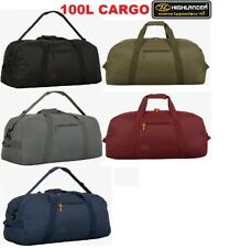 LARGE 100L MILITARY HIGHLANDER CARGO HOLDALL KIT BAG - ARMY SAS SF TA CADETS