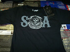 SONS OF ANARCHY S.O.A. + CIRCLE REAPER TODDLER SHIRT NEW !