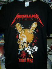 METALLICA DAMAGE INC. TOUR 1986 T-SHIRT NEW !
