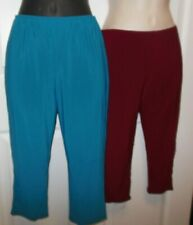 NWT Main Street Contemporary Dance Leggins wine teal Spandex child & adult Sizes