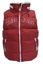 Timberland Red Kids Padded Hooded Gillet Childrens (T2667 997)