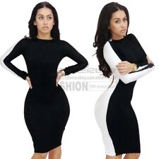 Womens Sexy Club Wear Cut Out Back Bodycon Backless Party Cocktail Slim Dress
