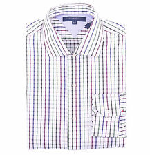 Tommy Hilfiger Men Long Sleeve Button Down Plaid Dress Shirt - $0 Shipping