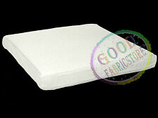 aa133t Light Ivory Cotton Canvas 3D Box Sofa Seat Cushion Cover*Custom Size*
