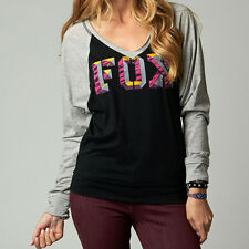 Fox Racing Fox Girl Chance Long Sleeve Shirt Black