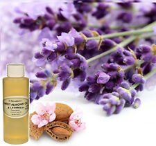 Almond (Sweet) & Lavender Massage & Body Oil Organic 2oz up to 7lb Free Shipping