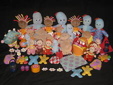 IN THE NIGHT GARDEN TALKING UPSY PIGGLE, PINKY PONK, MAKKA PAKKA TOMBLIBOOS TOYS