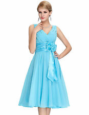 2014 Sexy Short Chiffon Formal Bridesmaid Homecoming Evening Prom Party Dresses