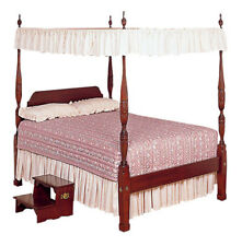 Queen Size Lace Canopy Top - available arched and flat canopy