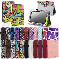 Pattern PU Leather Stand Folio Case Cover Wake/Sleep for Kindle Fire HD 7 2012