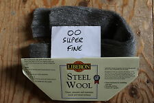 LIBERON STEEL WOOL 2 METRE LENGTH CHOICE OF GRADES,HIGH QUALITY, FREE POST
