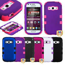 Hybrid RUGGED TUFF PROTECTOR CASE COVER For SAMSUNG GALAXY RING PREVAIL 2 M840