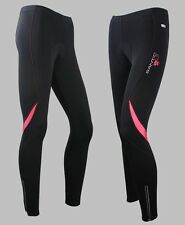 New Womens Cycling Pants 3D Padded Bicycle Bike Tights Reflective Trousers