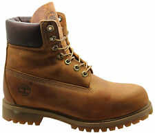 Timberland AF 6 Inch Prem Mens Boys Boots Brown Leather (27094 WH Box)