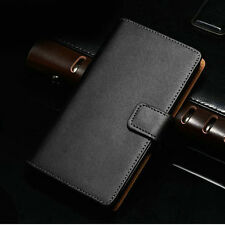 Luxury Genuine Real Leather Flip Wallet Case Cover Pouch For LG Google Nexus 5