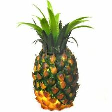 Artificial Pineapple - Decorative Plastic Fruit - Choose Pack Size From List
