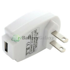 20X 25X 50X 100X Lot USB Wall Charger for iPod Nano Touch iPhone 3 4 4S 5 5C 5S