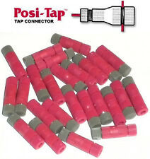 Posi-Tap MINI Connector * 20-22 AWG  Red / Gray * Re-Usable Quick * NO Crimping