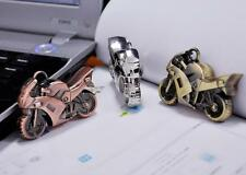 New 4 - 32G Metal motorcycle model USB Memory Stick Flash Pen Disk Drive Gift