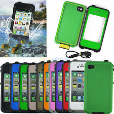 Colorful Waterproof Shockproof Dirt Durable Case Cover For iPhone iPod Touch