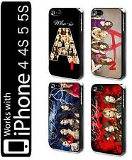 BUY 2 GET 1 FREE Pretty little liars 4 5 5s Hard Phone Case Cover Tv Series Pll1
