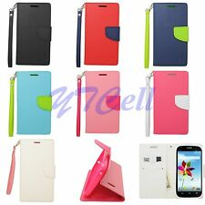For ZTE Phones Flip Wallet PU Leather TPU Case Cover CT2