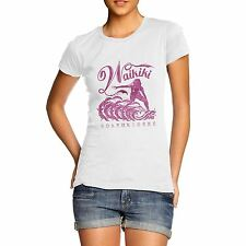 Womens Surfing Paradise Waikiki Distress Print T-Shirt