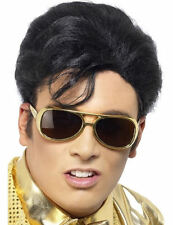 Official Elvis Presley Glasses Silver OR Gold Rock And Roll Sunglasses