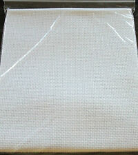 14 COUNT WHITE AIDA - CHOOSE FROM 50 or 100 or 150 x 100cm